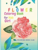 Flower Coloring Book for Kids Girl