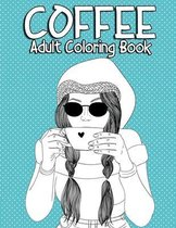 Coffee Adult Coloring Book
