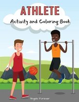 Athlete Activity and Coloring Book
