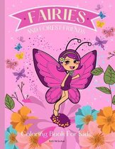 FAIRIES AND FOREST FRIENDS Coloring Book for Kids