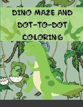 Dino maze and Dot-to-Dot coloring