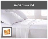 Hotel Laken 16A  100% Katoen 175g. g/m2  Wit - twijfelaar 180x300/4cm