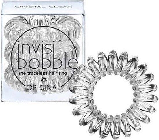 Invisibobble - Original - Haarelastiekjes/haarbandjes - Crystal Clear 3 stuks