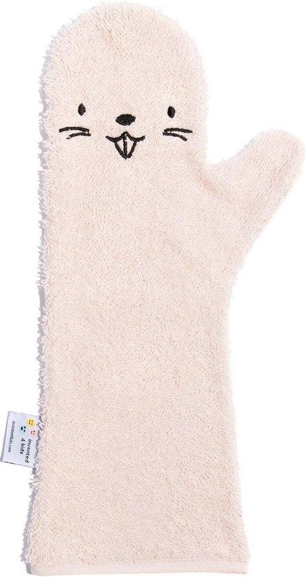 Afbeelding van Baby Shower Glove Beaver roze
