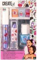 Create It! Make-up Set Holographic Meisjes 4-delig