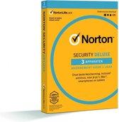 Norton Security Deluxe 3-Apparaten 1 jaar 2021 - A