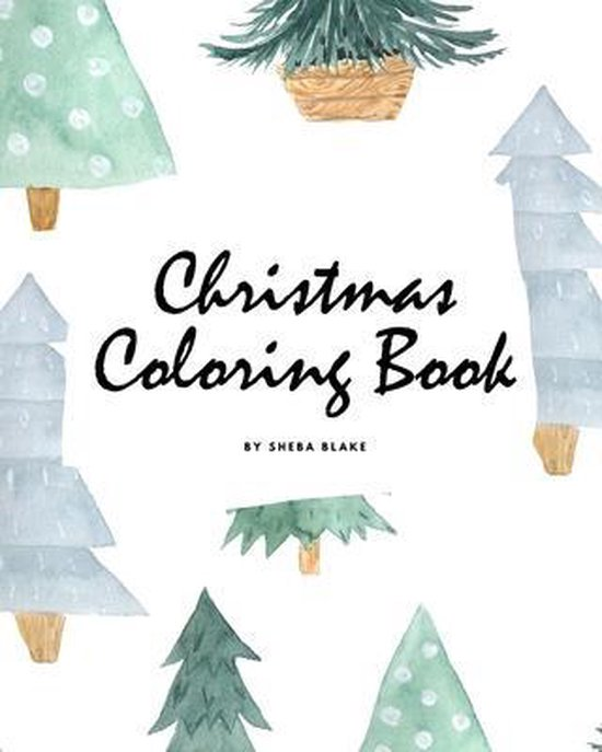 Christmas Coloring Book for Children (8x10 Coloring Book / Activity Book)