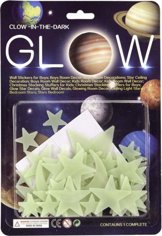 Glow In The Dark Sterren en Maan