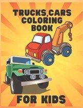 Truck, Cars Coloring Book for Kids