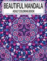 Beautiful Mandala Adult Coloring Book