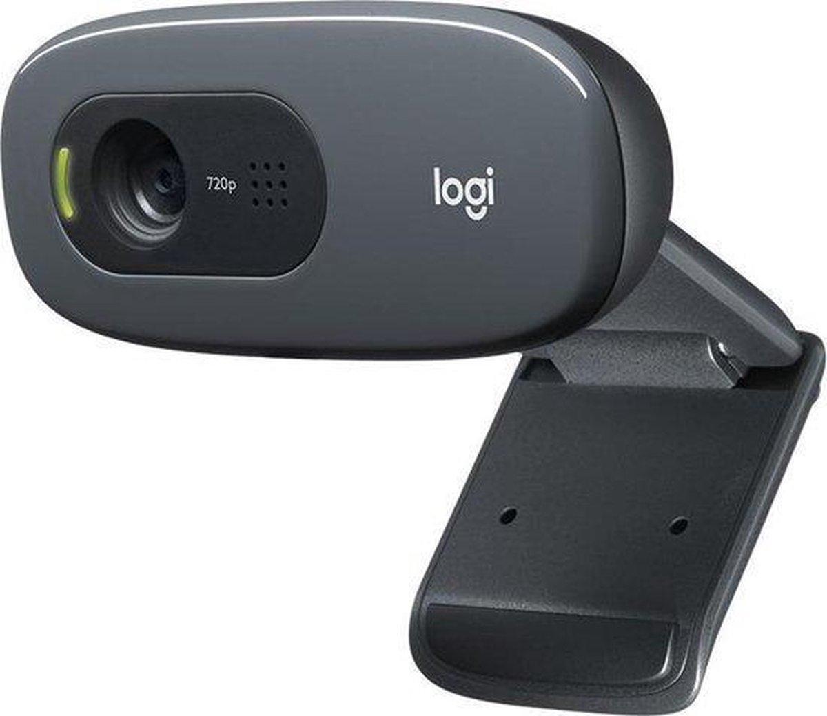 Logitech C270 Webcam HD - Logitech Webcam - HD - C270 - Zwart - Logitech