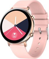 Maoo GW33 Smartwatch - Dames Smartwatch - Sporthorloge - Sportarmband - Watch - Fitnesstracker, Slaapmonitor, Hartslag, Bloeddruk & Saturatie meter - Nieuwste Generatie Smartwatch - Roze