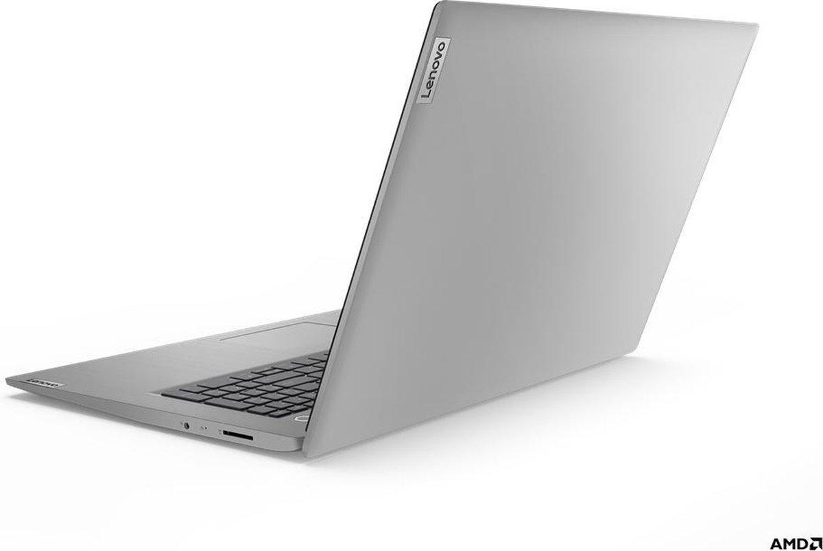 """Lenovo IdeaPad 3 Notebook 43,9 cm (17.3"""") 1920 x 1080 Pixels AMD Ryzen 3 8 GB DDR4-SDRAM 512 GB SSD Wi-Fi 5 (802.11ac) Windows 10 Home Grijs, Platina"""