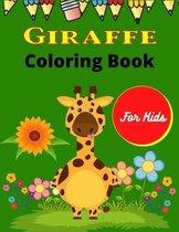 GIRAFFE Coloring Book For Kids
