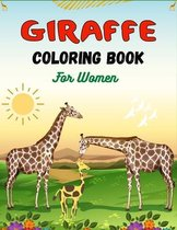 GIRAFFE Coloring Book For Women