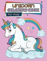 Unicorn Coloring Book for Kids: Ages 4-8, Cute and Unique Coloring Pages for Girls and Kids with Awesome Designs