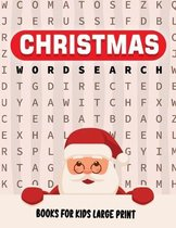 Christmas Word Search Book For Kids Large Print