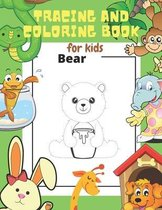 Tracing and Coloring Book for Kids