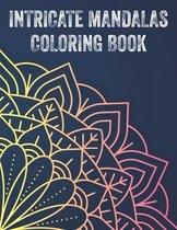 Intricate Mandalas Coloring Book