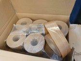 Rajapack Versterkte gegomde kleefband 70mm x 200M
