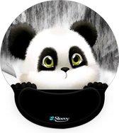 Muismat polssteun schattige pandabeer - Sleevy - mousepad - Collectie 100+ designs