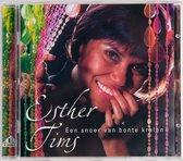 CD cover van Een Snoer Van Bonte Krale van Esther Tims