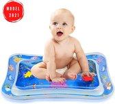 Baby Waterspeelmat - Opblaasbaar - Speelkleed Baby - Educatief Speelgoed Baby - Ontwikkeling Baby - Kraamcadeau - Baby Trainer - Water Speelmat - Baby Shower - Speelkleed Aquamat - Speelgoed - Watermat