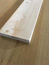 Steigerhouten plank, Steigerplank 60cm (2x geschuurd) BLANK   Steigerhout Wandplank   Steigerplanken   Landelijk   Industrieel   Loft   wandrek