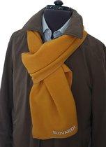 Bluvardi- Antipilling Fleece Sjaal - oker geel