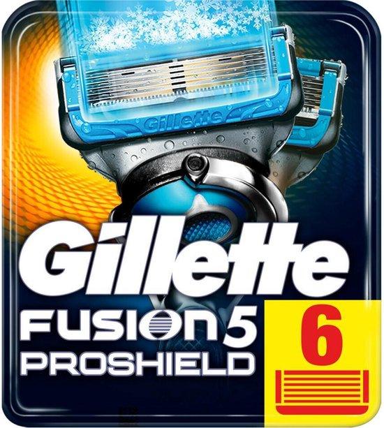 Gillette Fusion5 ProShield Chill Scheermesjes - 6 stuks - Mannen - Brievenbus Verpakking