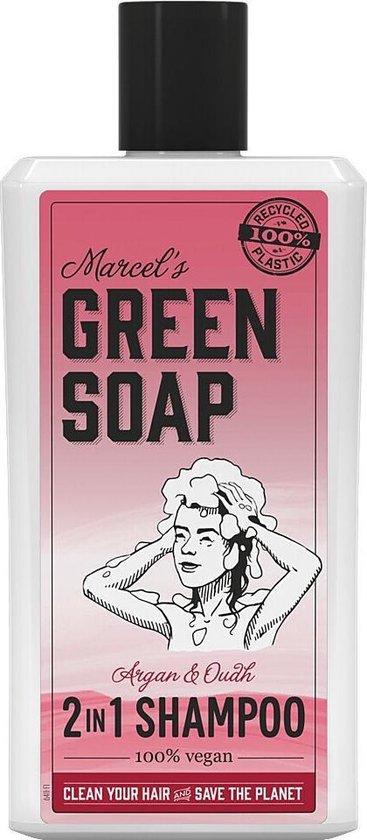 Marcel's Green Soap Shampoo Argan & Oudh 500 ml