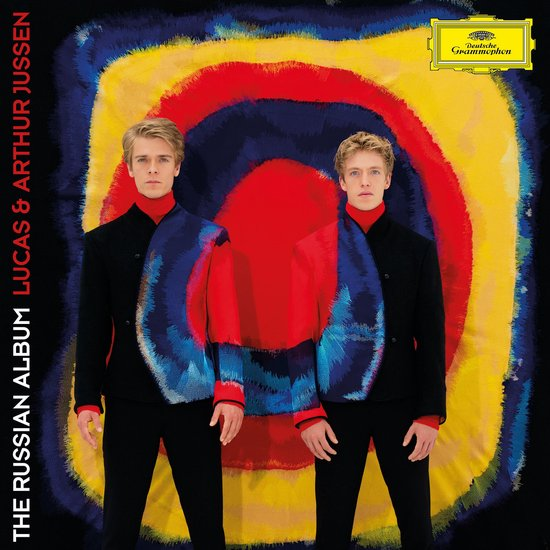 CD cover van The Russian Album van Arthur & Lucas Jussen