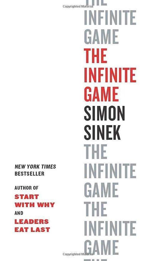 Boek cover The Infinite Game van Simon Sinek (Paperback)