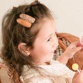 Setje meisjes haarspeldjes leohttps://haarspeldjes.webshopapp.com/admin/products/paginate?dir=next&offset=23&product_id=110612621pard leather | Bruin | Meisje