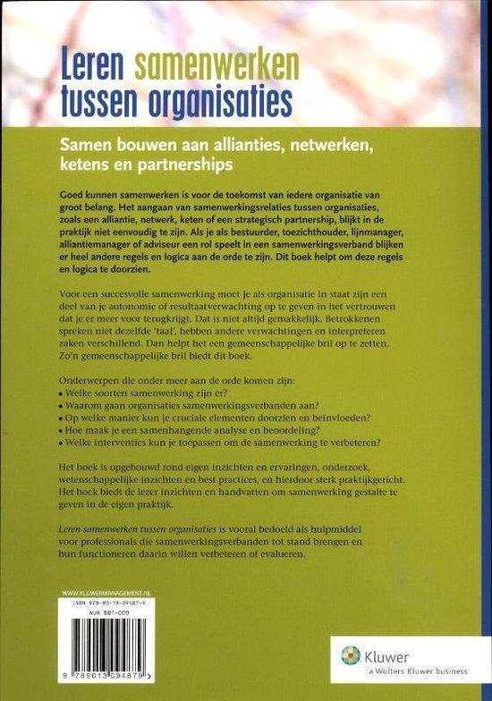 Leren samenwerken tussen organisaties