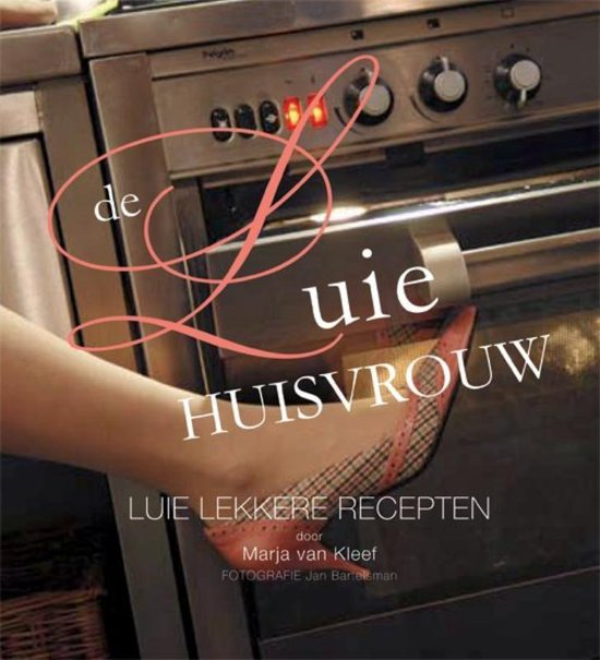 Cover van het boek 'De luie huisvrouw' van M. van Kleef