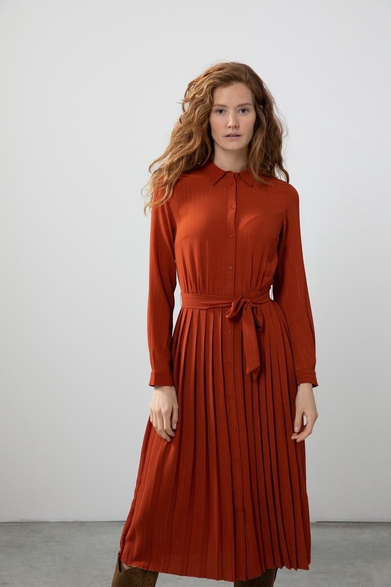 Sissy-Boy - Rode plissé jurk