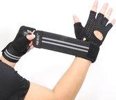 Fitness Gloves -Maat L - Fitness handschoenen - Gewichthefhandschoenen - Sporthandschoenen - Fit Sport