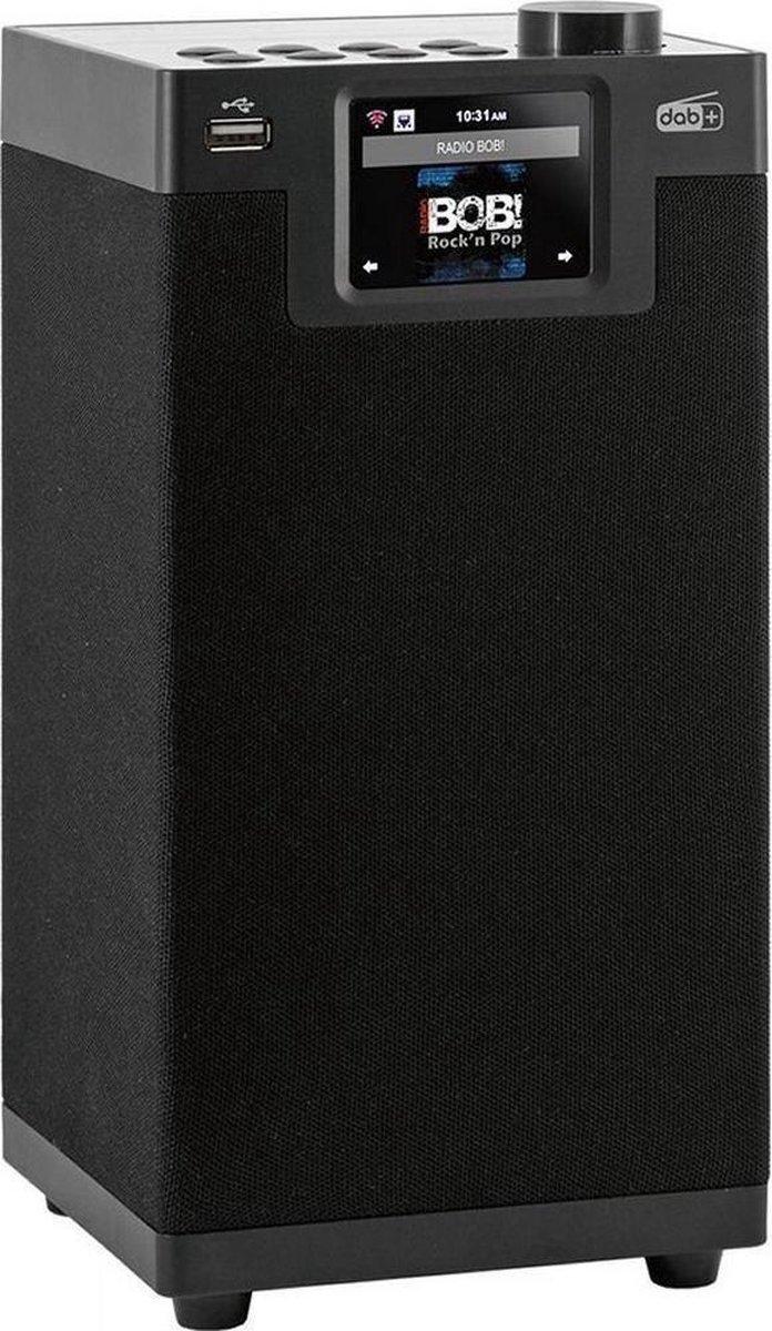 Imperial DABMAN i610 schwarz Tafelradio DAB+, DAB, Internet, FM DAB+, Internetradio, Bluetooth, WiFi Geschikt voor DLNA Zwart