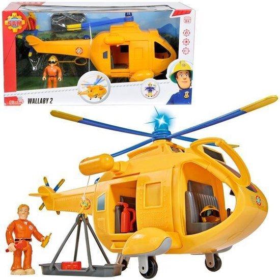 Brandweerman Sam - Helicopter WallabyBo