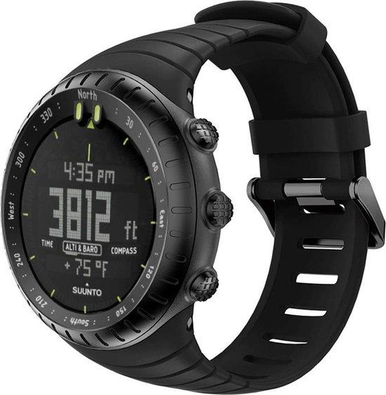 Suunto Core Horlogebandje Bandje Polsband Siliconen - Zwart