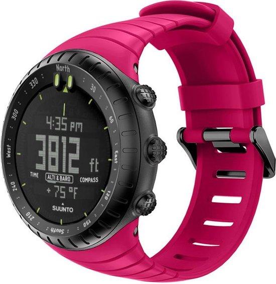 Suunto Core Horlogebandje Bandje Polsband Siliconen - Roze