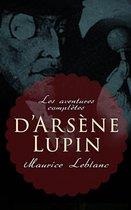 Omslag Les aventures complètes d'Arsène Lupin