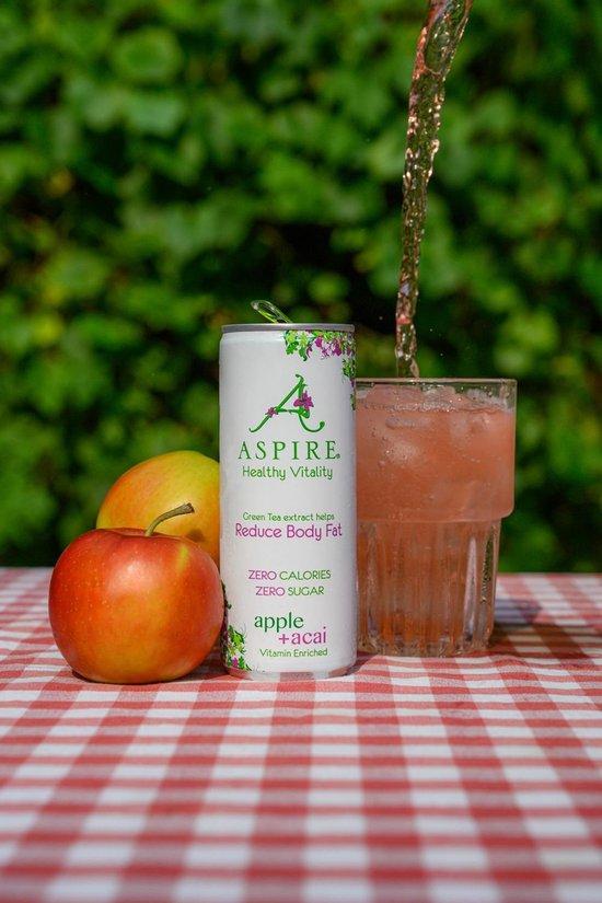 Aspire Drinks - Appel & Acai - 12 x 250 ml