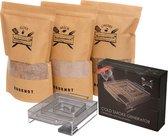Rookmot Assortiment met Cold Smoke Generator | BBQ | Rookhout | Kadopakket