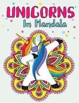 Unicorns In Mandala