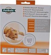 Kattenluik - PetSafe kattendeur met magneetslot - Geschikt voor tot 7 kg.