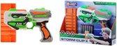 Tack Pro® Storm Clip II met 6 round clip en 6 darts, 31 cm