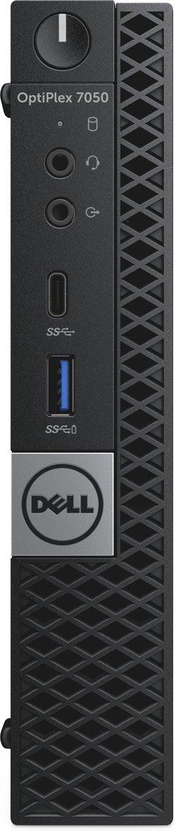Dell Optiplex 7050 - Mini PC - Intel Core i7 - 16GB - 512GB - Windows 10 Professional