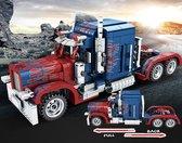 Peterbilt - Amerikaanse truck - Vrachtwagen - Technisch Bouwpakket- Creator- 850 bouwstenen - Toy Brick Lighting